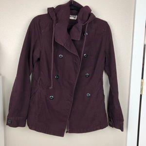 Converse Purple Lightweight Jacket Small